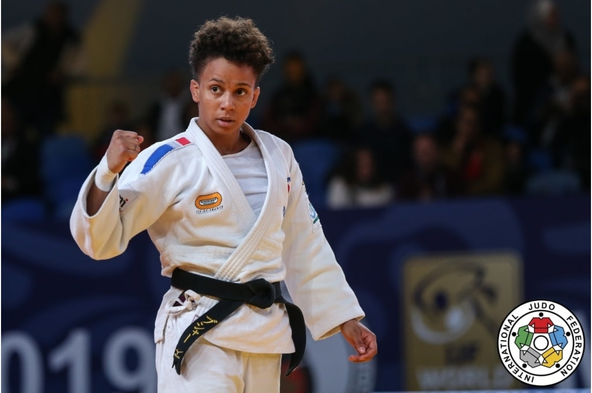 Judo Training - INTERVIEW WITH AMANDINE BUCHARD