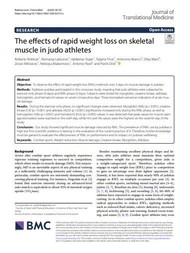 Judo Training rapid_weigh_loss
